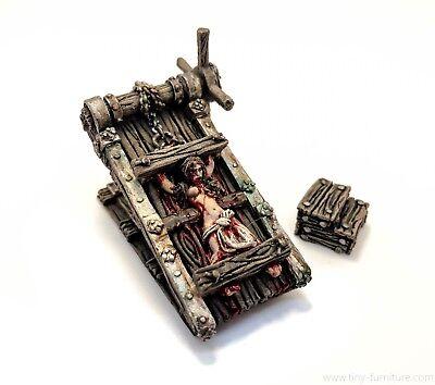 50220d716 Details about Torture rack - D&D, dungeon terrain, scenery, Frostgrave,  rpg, Pathfinder