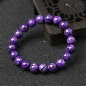 1pcs-Charoite-Gemstone-bracelet-Tassel-natural-Chakas-Healing-Reiki-cuff-Veins