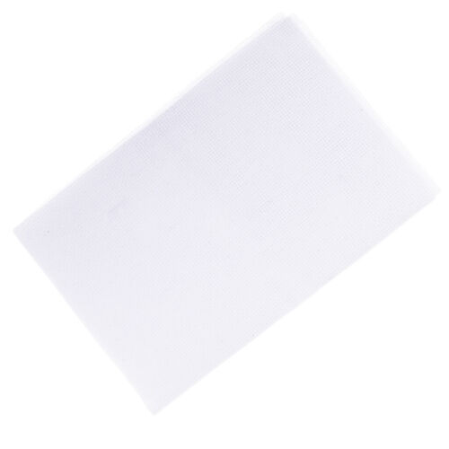 Cotton Cross Stitch Aida Fabric 11CT Count Needlework for Hand Embroidery White