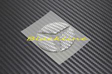 For Mercedes Gray Carbon Steering Wheel Emblem Decal C E S GLK SLK ML GL 63 AMG