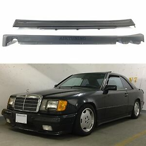 mercedes benz w124 coupe cabrio amg style side skirts. Black Bedroom Furniture Sets. Home Design Ideas
