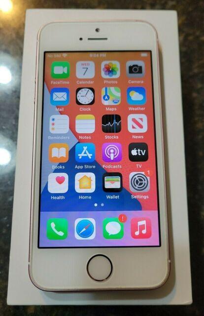 Apple iPhone SE - 32GB - Rose Gold (Unlocked) A1662 (GSM)