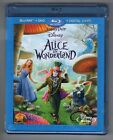 Alice in Wonderland (Blu-ray/DVD, 2010, 3-Disc Set, Includes Digital Copy)