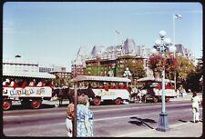 29 Original Slides VANCOUVER BC CANADA 1976 Horse Trolley Coach Bus Scenic Views