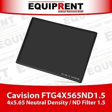 Cavision 4x5.65 Neutral Density / ND Matte Box Filter 1.5 (FTG4X565ND1.5) EQA77