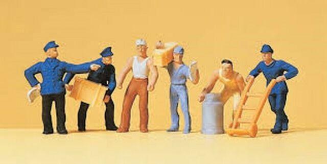 Preiser 14016 rail workers 1:87