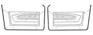 NEW-67-68-Mustang-amp-Cougar-Door-Seal-Weatherstrip-Kit