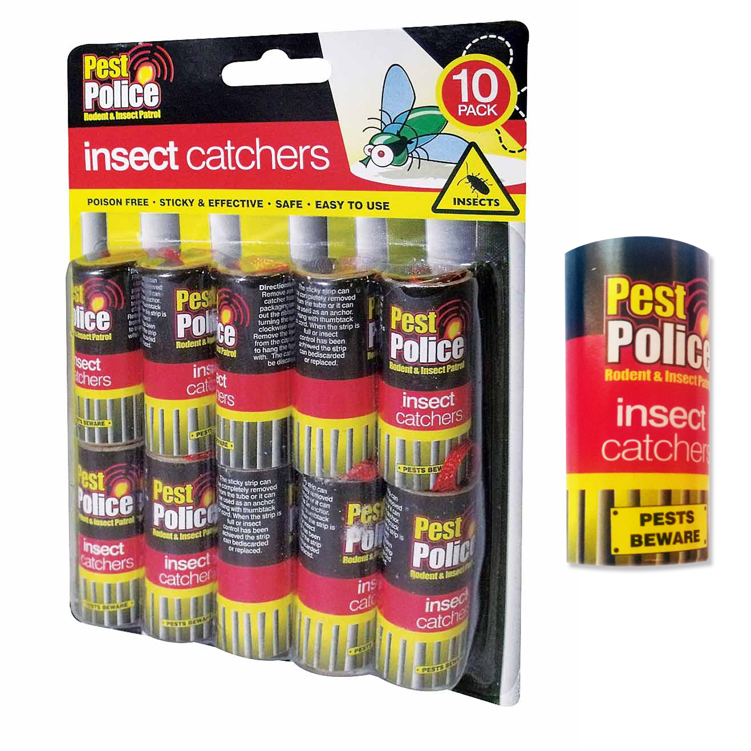Fly Paper Insect Control - Buy in Rolls or Packs of 10 Rolls - DISCOUNTS & DEALS