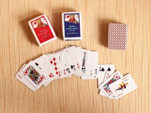 Re-ment Dollhouse Miniature Games Poker for blythe Barbie set A