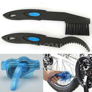 New-Cycling-Bike-Bicycle-Chain-Wheel-Wash-Cleaner-Tool-Brushes-Scrubber-Set-Kit