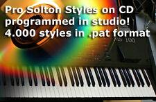 cd 4300 pat styles Ketron Solton MS40 MS50 MS60 MS100 MS 50 60 100 X1 X4 XD3 XD9