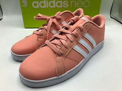 adidas neo baseline kid's shoes rose gold