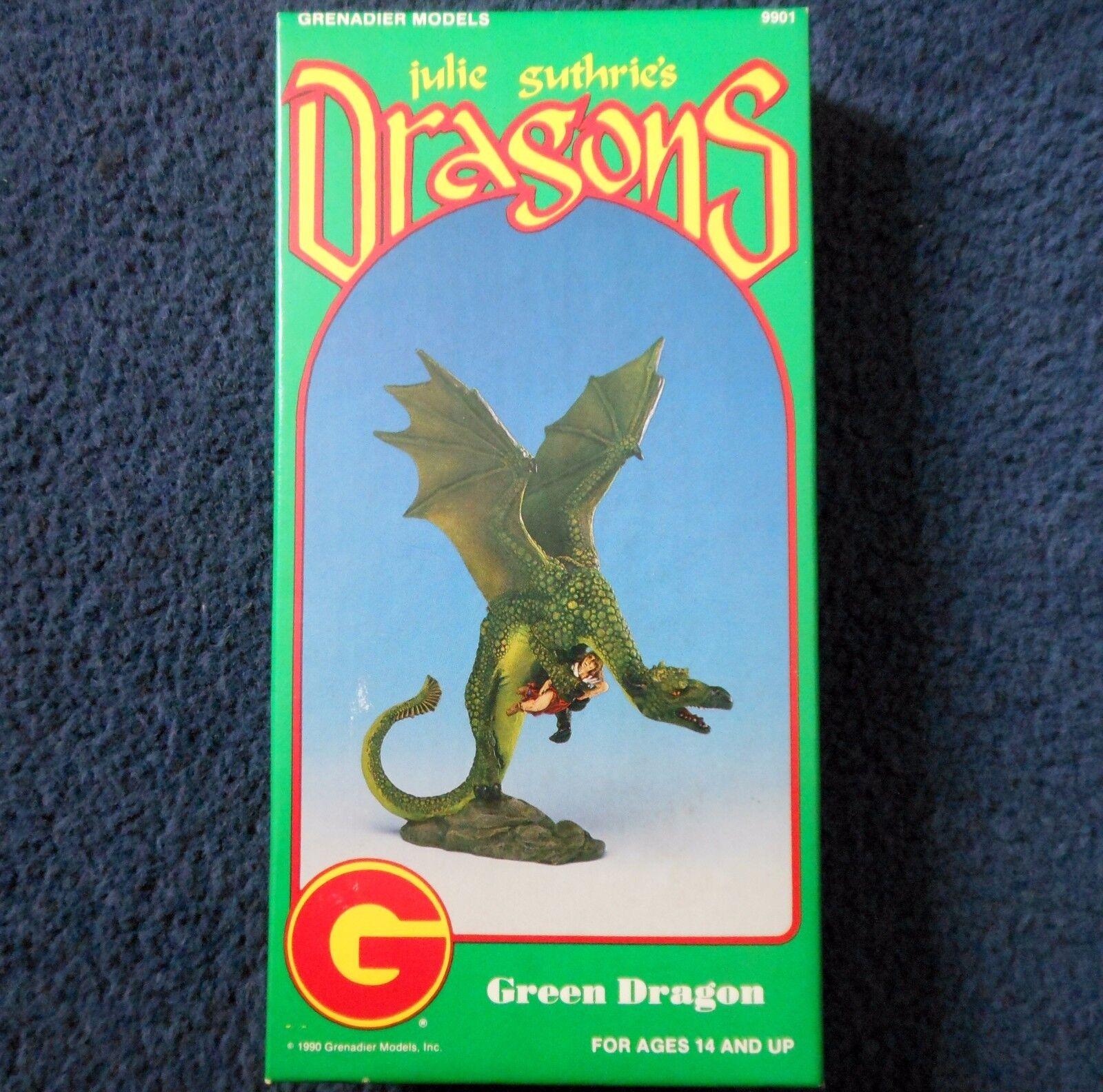 1990 julie guthrie's vert dragon grenadier models 9901 donjons & dragons d&d