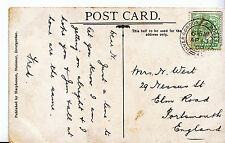 Genealogy Postcard - Family History - West - Elm Road - Portsmouth  U2824