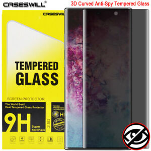 For-Samsung-Galaxy-Note-10-Plus-Curved-Tempered-Glass-Privacy-Screen-Protector
