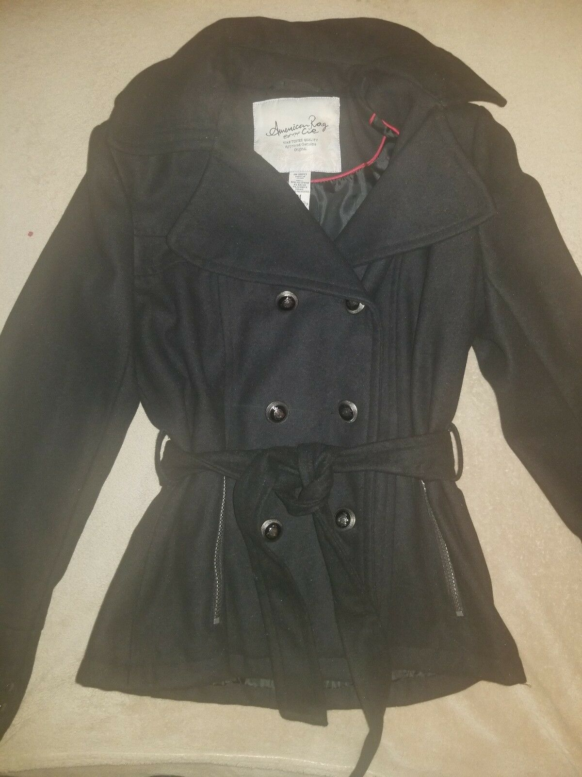 American Rag Peacoat With Removable Hoodie Size M