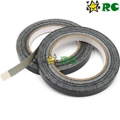 2pcs 12mm*25M Glass Adhesive Fibre Tape Black RC Tool For RC Car Plane Boat Part