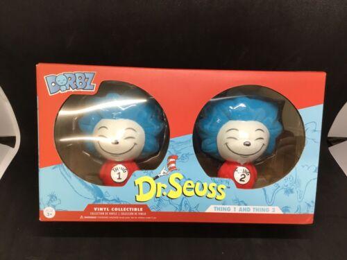 Funko dorbz Dr Seuss FLOCCATI COSA COSA 1 /& 2 esclusivo 2 Pack Vinyl Figure