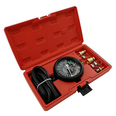 Exhaust Back Pressure Tester Set Pressure Gauge Test Tool Kit Sensor