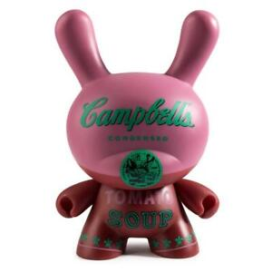 KidRobot-Andy-Warhol-Masterpiece-CAMPBELL-039-S-SOUP-8-Inch-Vinyl-Dunny-Limited-500