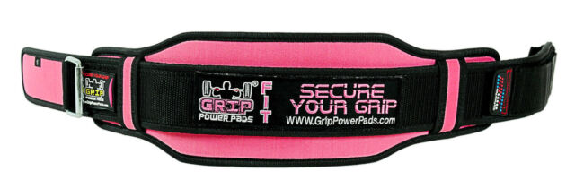 e1be5940f Grip Power Pads  Pro Lifting Belt for Women - Black and Pink ...