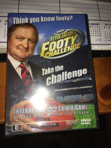 1 of 1 - Kevin Sheedy's Footy Challenge (DVD, 2005) New & Sealed AFL
