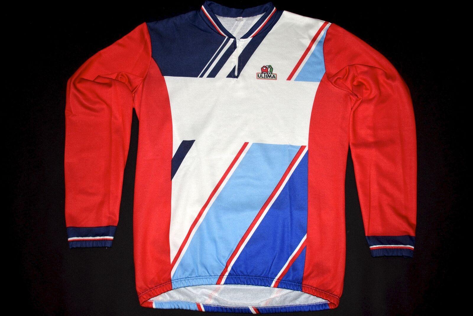 Ultima Fahrrad Rad Trikot Trikot Trikot Shirt Maglia Camiseta Jersey Maillot Vintage 90s 7 L e4bfb0