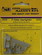 CMK 1/72 F-104G STARFIGHTER Set esterno # 7215