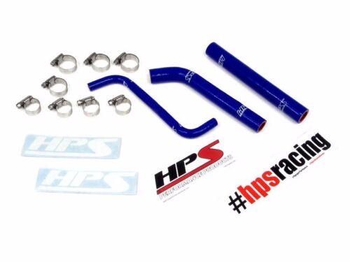 HPS Blue 3-Ply Silicone Radiator Hose Kit for Honda 04-09 TRX450R Coolant
