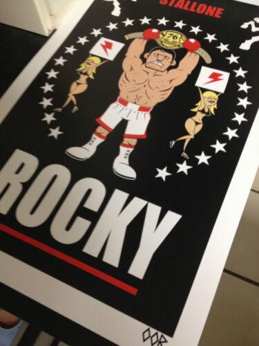 Rocky movie poster print