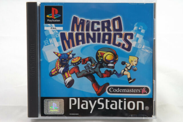 Micro Maniacs (Sony PlayStation 1/2) PS1 Spiel OVP, PAL, CIB, TOP, GUT