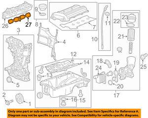 image is loading gm-oem-engine-intake-manifold-gasket-55566664