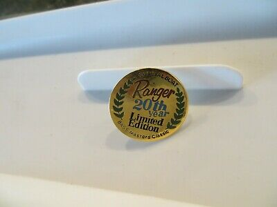old logo 25 YEAR ANNIVERSARY  Patch B.A.S.S Vintage Mint BASSMASTER - 4  inch