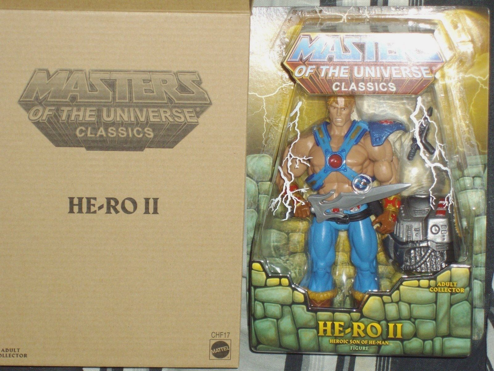 New Masters of the Universe Classics He-Ro II Son of He-Man figure Dare MOTUC LE