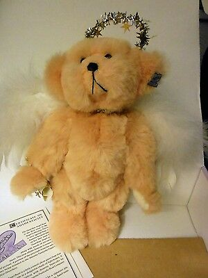 "Dolls & Bears Annette Funicello 11"" ""guardian Angel"" Bear Very Cute Mib"