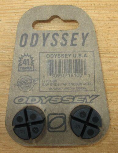 Bicycle Handlebar End Plugs Odyssey 1 pair