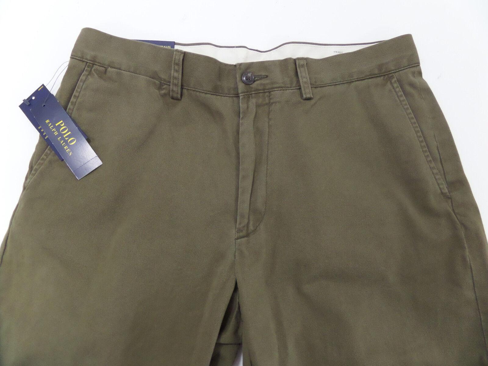 Polo Ralph Lauren  NEW Men's Size 33X32 Classic Fit 100% Cotton Pants