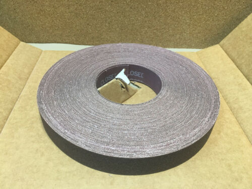 "Rolls DURAMARK 1/"" x 50 Yards ALUMINUM OXIDE RESIN CLOTH 4402-22702 Grit 120 5"