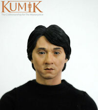 "1/6 Kumik Male Man Jackie Chan Head  KM13-41  F Phicen 12"" Action Figure Body"