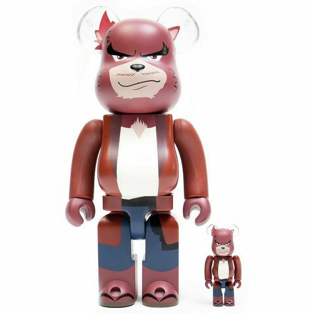 The Boy And The Beast Anime Kumatetsu 400% 100% Bearbrick Be@rbrick Toy Rare