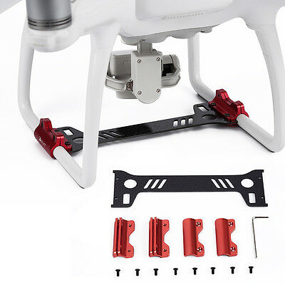 Carbon Fiber Landing Gear Camera Gimbal Protector Board For DJI Phantom 4 Drone