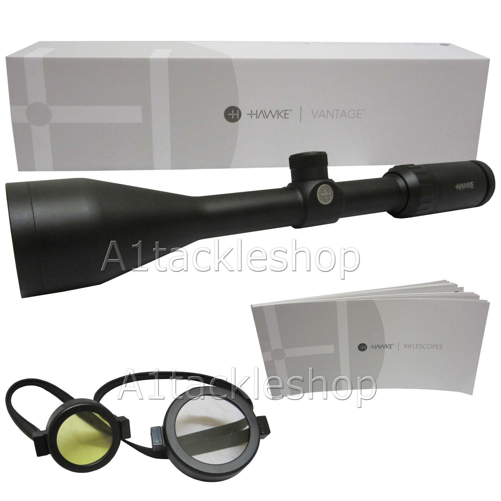 Hawke Vantage 3-9 x 50 Mil Dot telescópica rifle de aire comprimido alcance vista 14131