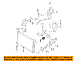 image is loading ford-oem-radiator-coolant-temperature-sensor-3l8z12a648aa