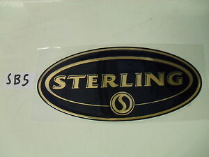 Sterling-Swift-group-caravan-oval-resin-badge-sticker-for-dent-cover-up-SB5
