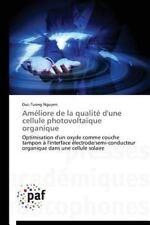 Am�liore de la Qualit� d'une Cellule Photovolta�que Organique by Nguyen...