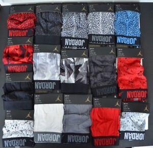 38-43 Lot of 2 Nike Air Jordan Briefs DRI-FIT X-Large Mens Boxers Red /& Black