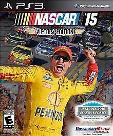 Nascar 15 Victory Edition Sony Playstation 3 2015 For Sale