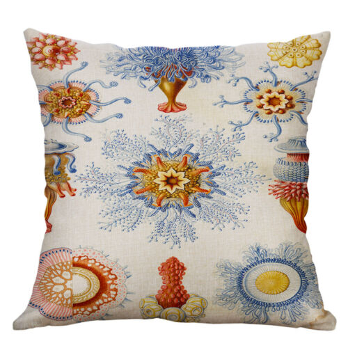 18/'/' Vintage Plant PillowCase Pillow Cover Sofa Waist Cushion Covers Home Decor