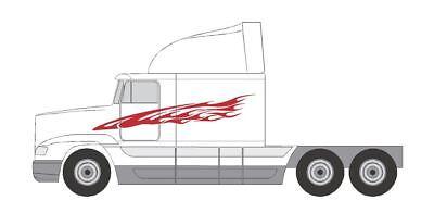 SEMI #8 DECAL VINYL AUTO  VAN VEHICLE SEMI TRAILER  CROSS OVER SUV CAR TRUCK SUV
