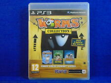 ps3 WORMS COLLECTION Ultimate Mayhem + Armageddon Playstation PAL REGION FREE